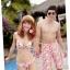 พร้อมส่ง ชุดว่ายน้ำคู่รัก ชุดว่ายน้ำบิกินี่ทูพีซ ลายสัตว์ทะเล พร้อมชุดแซกคลุมผ้าซีทรูสวย thumbnail 11