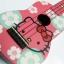 """อูคูเลเลเล่ Ukulele รุ่นHello Kitty Pink Soprano 21"""" Maple สาย GHS ฟรีกระเป๋า thumbnail 1"""