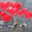 """ลูกโป่งหัวใจ สีแดง ไซส์ 11 นิ้ว แพ็คละ 10 ใบ (Heart Latex Balloon - Red Color 11"""") thumbnail 1"""