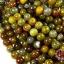 หินเกร็ดมังกร เขียว-ส้ม 12 มิล (จีน) (1เส้น) thumbnail 1