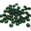 ลูกปัดแก้ว ทรงจานบิน สีเขียว 8มิล(1ขีด/257ชิ้น) thumbnail 1