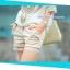 กางเกงคลุมท้องขาสั้น ลายลูกไม้ สีกากี : SIZE XL รหัส PN059 thumbnail 1