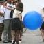 """ลูกโป่งจัมโบ้ สีน้ำเงิน ขนาด 24 นิ้ว - Round Jumbo Balloon Blue 24"""" thumbnail 1"""