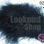 ขนนกมีริบบิ้น สีดำ ยาว 5 ซม.(มี5ชิ้น) thumbnail 1