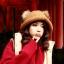 หมวกไหมพรมแฟชั่นเกาหลีพร้อมส่ง ทรงดีไซต์เก๋ หมวกสีน้ำตาล แต่งขนด้านบน thumbnail 2