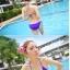 พร้อมส่ง ชุดว่ายน้ำ Bikini ผูกข้าง สายคล้องคอ สุดเซ็กซี่ thumbnail 2