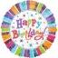 ลูกโป่งฟลอย์นำเข้า Radiant Birthday / Item No. AG-A119981 แบรนด์ Anagram ของแท้ thumbnail 4