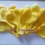 """ลูกโป่งหัวใจ เนื้อสแตนดาร์ทสีเหลือง ไซส์ 12 นิ้ว แพ็คละ 10 ใบ (Heart Latex Balloon - Yellow Color 12"""") thumbnail 7"""