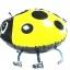 Lady Bug Yellow Walking Balloons - แมลงเต่าทองสีเหลืองบอลลูน / Item No. TL-K008 thumbnail 5