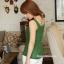 เสื้อคลุมท้องแขนกุด มีกระดุมปรับขนาด : สีเขียว รหัส SH165 thumbnail 8
