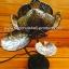 Coconut Shell Lamp (โคมไฟกะลามะพร้าวทรงดอกบัวฉลุลายไทย) thumbnail 3