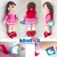 """เพื่อนโดเรมอน ตุ๊กตา ชิซูกะ-Shizuka ผ้าทีเอฟ (ไม่มีขน) M-14"""" thumbnail 2"""