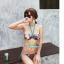 พร้อมส่ง ชุดว่ายน้ำ Bikini ผูกข้าง สายคล้องคอ ลายสวยๆ thumbnail 1