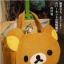 กระเป๋าหน้าน้องหมีใบใหญ่ Rilakkuma Bag (ซื้อ 3 ชิ้น ราคาส่ง 400 บาท/ชิ้น) thumbnail 1