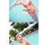 พร้อมส่ง ชุดว่ายน้ำ Bikini ผูกข้าง สีแดงแต้มลายจุดขาวน่ารัก สายคล้องคอ thumbnail 3