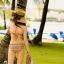 PRE ชุดว่ายน้ำบิกินี่ บราสายคล้องคอ อกปิดเกลียว ด้านหลังผูก พร้อมผ้าคลุมลายโบฮีเมียนสวยเก๋ thumbnail 10