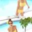 พร้อมส่ง ชุดว่ายน้ำบิกินี่ทูพีซ สีเหลือง แต่งระบายชั้นๆ น่ารัก thumbnail 4