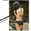 พร้อมส่ง ชุดว่ายน้ำบิกินี่ สายคล้องคอ พร้อมชุดแซกผ้าซีทรูแต่งระบายชั้นๆ สวย thumbnail 14
