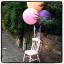 """ลูกโป่งกลม สีม่วง ไซส์ 18 นิ้ว จำนวน 1 ใบ (Round Balloon - Standard Purple Color 16"""") thumbnail 1"""
