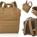 กระเป๋าเป้ Anello หนัง รุ่น AT-B1211 สี CAMELBEIGE (CBE)