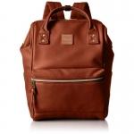 กระเป๋าเป้ Anello หนัง รุ่น AT-B1211 สี BROWN (BR)