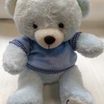 """ตุ๊กตาหมีสีฟ้า Popular Bear size 10"""" ตัวละ 199 รวมส่ง EMS"""