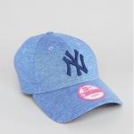 หมวก NEW ERA 9Forty Women Cap NY สีฟ้า เจอร์ซี่