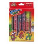 Glitter Glue Sparkle 10.5 ml. x 6 Colors