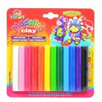 Clay 12 Colors 200 g.