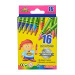 Regular Crayons 16 Ct- School Quality