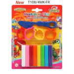 Modeling Clay 100 g. with Fruit molds