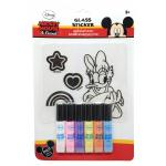 Glass Sticker: Daisy Duck