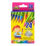 Regular Crayons 24 Ct- School Quality