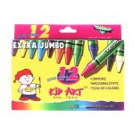 Extra Jumbo Crayons Ct. 12