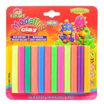Clay 12 Neon Colors 200 g.