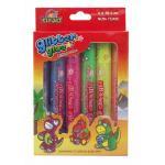 Glitter Glue Neon10.5 ml. x 6 Colors