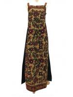 ชุดเดรสวินเทจ เดรสยาว Vintage Embroidered Dress
