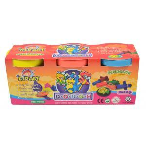 แป้งโดว์ 50 กรัม 3สี (Dough Single Color 50 g. 3 Color)