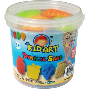 ทรายปั้นธรรมชาติ 600 g. + แม่พิมพ์ (Dynamic Sand Fruit 600 g. 6 Colors + 4 Molds)