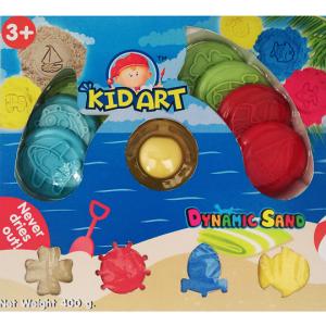 ทรายปั้นธรรมชาติ + แม่พิมพ์ (Dynamic Sand Gift Set)