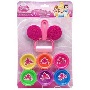 แป้งโดว์25กรัม 6 สี + แม่พิมพ์พริ้นเซส (Disney Princess Dough 25 g. Set)