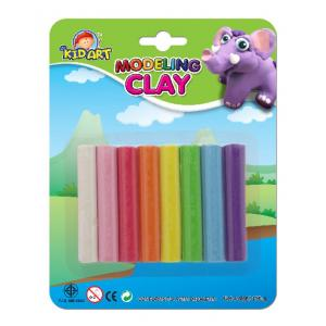 ดินน้ำมัน 100 กรัม 8สี/แพ็ค (Clay Pack without mold)