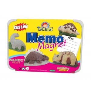 ชุดประดิษฐ์แม่เหล็กติดตู้เย็นทรายปั้น (D.I.Y Sandy Clay Colors- Memo Magnet)