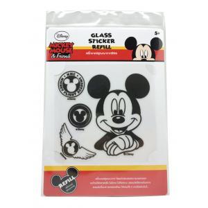 ชุดสติ๊กเกอร์สูญญากาศ คละลาย 2 แผ่น (Micky Mouse Refill Sticker)