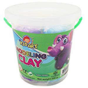 ดินน้ำมัน 300 กรัม 6 สี+ แม่พิมพ์ (Clay 6 Colors 300 g. with 3 molds)