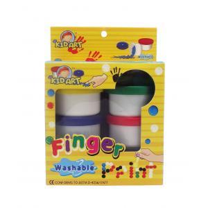 สีฟิงเกอร์เพนท์ 25 ml. x 6 สี (Finger Paint)