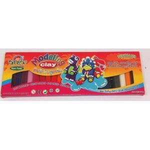 ดินน้ำมัน 500 กรัม 24สี (Clay 24 Colors 500 g.)