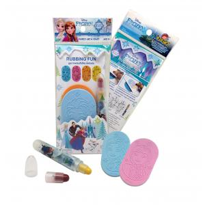 Frozen Collection: Rubbing fun with Crayons [ชุดภาพฝนสีเทียน โฟนเซ่น