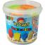 ทรายปั้นธรรมชาติ 600 g. + แม่พิมพ์ (Dynamic Sand Fruit 600 g. 6 Colors + 4 Molds) thumbnail 1