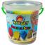 ทรายปั้นธรรมชาติ 400g. + แม่พิมพ์ (Dynamic Sand Fruit 400 g. 4 Colors + 2 Molds) thumbnail 1